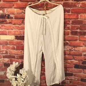 No Boundaries Palazzo Pants Sz XL (I10)